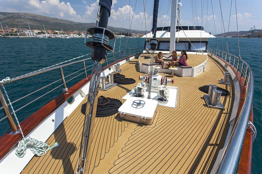 Softub spa segelbåt