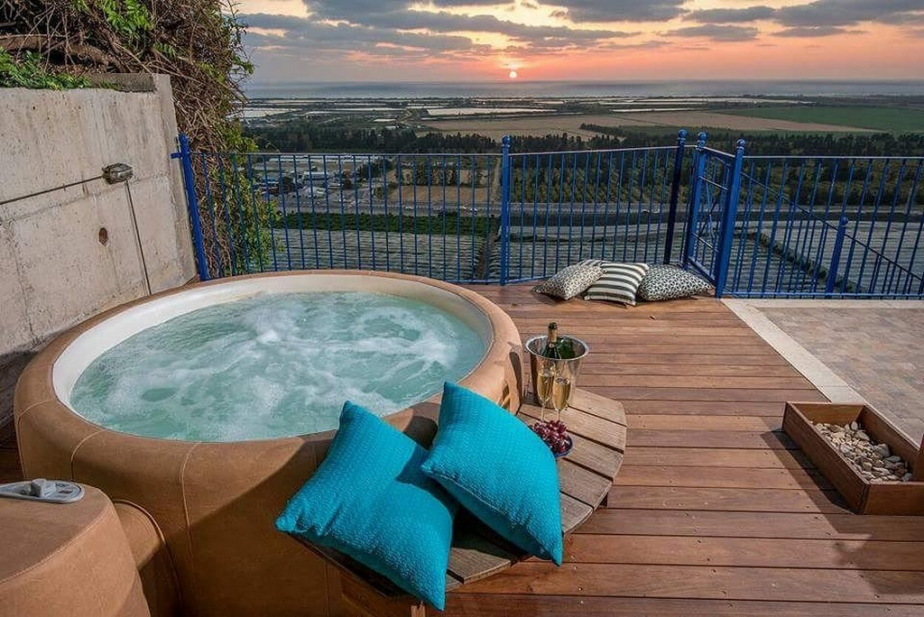 Softub hot tub for your balcony