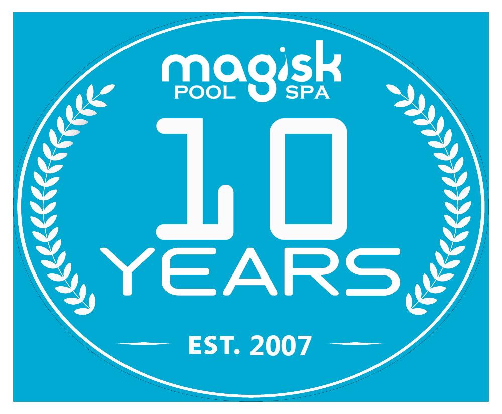 Magisk Pool & Spa firar 10 år! 6/10 - 8/10